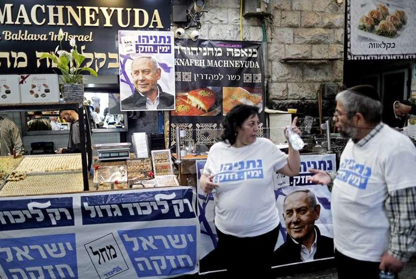 O rumo dos investimentos tecnológicos será mantido, se o atual primeiro-ministro, o conservador Benjamin Netanyahu, se mantiver no poder, ou for substituído por seu principal adversário, Benny Gantz. Foto: Thomas Coex/AFP