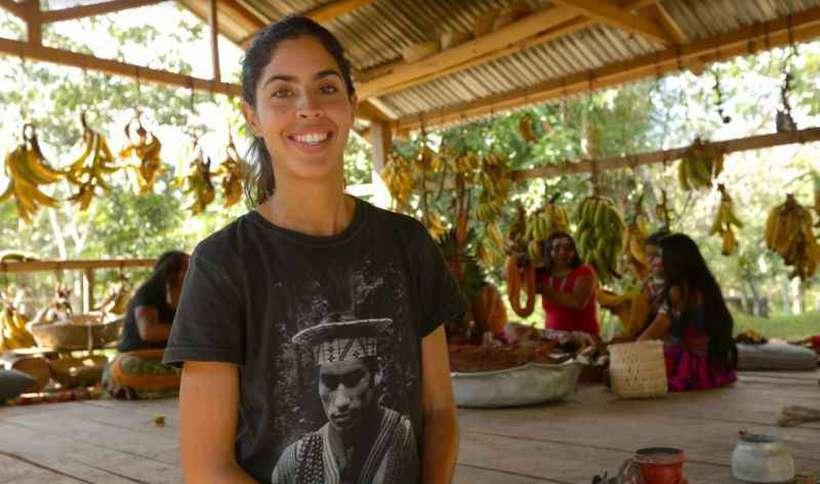 A apresentadora Bela Gil reina, com curiosidade e vibração, no comando de um novo programa do Canal Futura. Foto: Vanessa Medrado/Divulgação