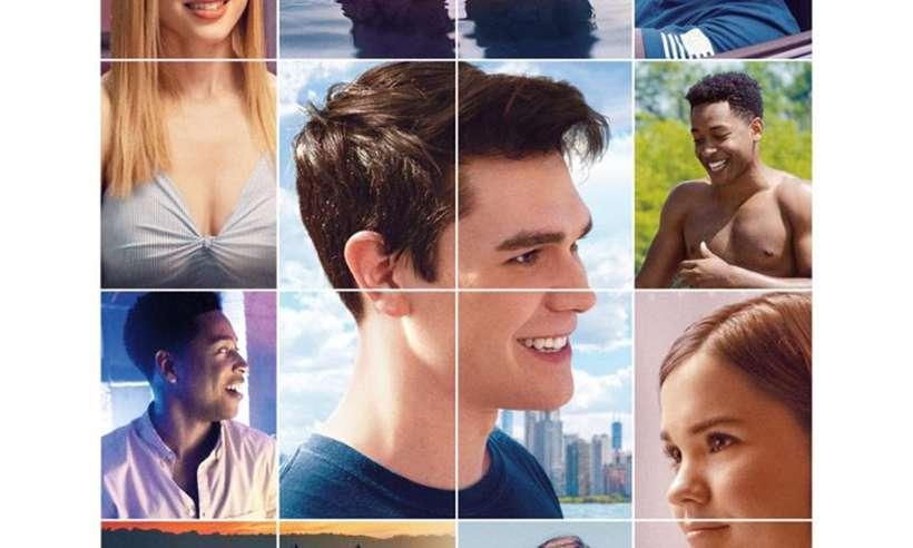 Detalhe do pôster do filme Nosso último verão. Foto: Netflix/Divulgação