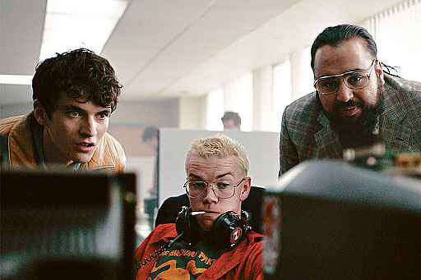Cena do filme interativo Black mirror: Bandersnatch: telespectador escolhe o enredo entre as opções disponibilizadas. Foto: Netflix/Divulgação