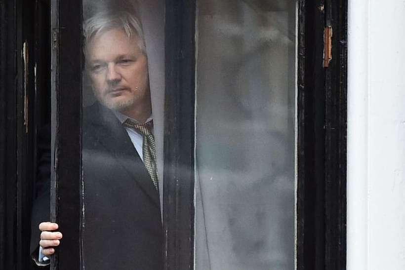 Ele foi preso na embaixada do Equador, na Inglaterra. Foto: Ben Stansall/AFP