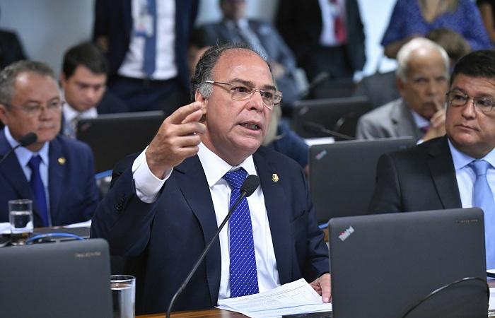 (De acordo com o Fernando Bezerra Coelho, o presidente Jair Bolsonaro indicou que visitará Pernambuco. Provavelmente, na segunda quinzena de maio. (Foto: Geraldo Magela/Agência Senado))