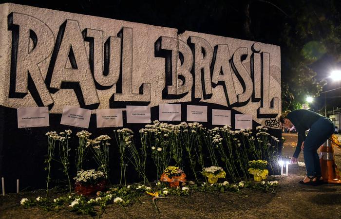 Massacre deixou dez mortos em março na unidade educacional (Foto: Nelson Almmeida/AFP) (Massacre deixou dez mortos em março na unidade educacional (Foto: Nelson Almmeida/AFP))