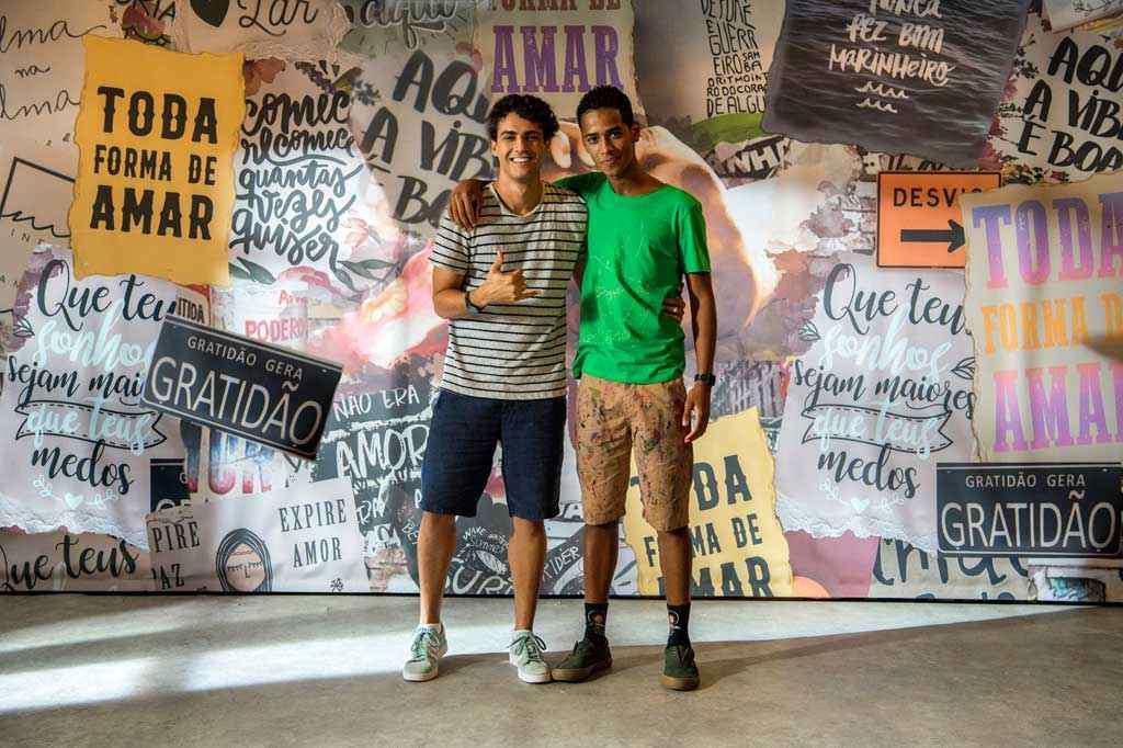 Guga (Pedro Alves), após conhecer Serginho (João Pedro Oliveira), enfrentará conflitos internos por causa de sua orientação sexual. Foto: Estevam Avellar/Globo