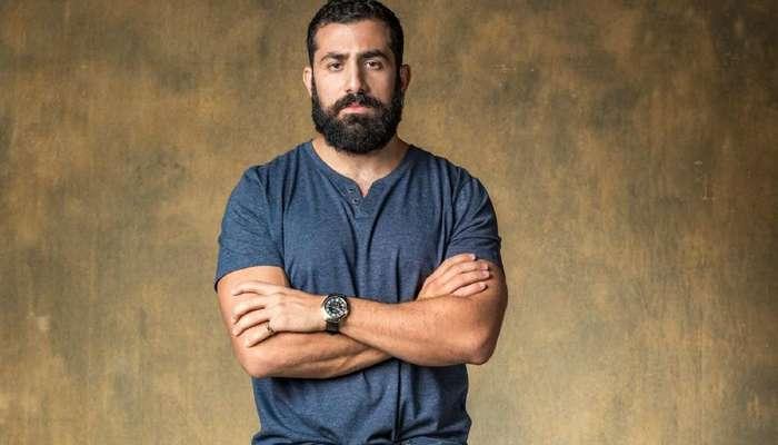 O sírio Kaysar Dadour, ex-BBB e um dos atores da novela Órfãos da Terra, da TV Globo. Foto: Divulgação