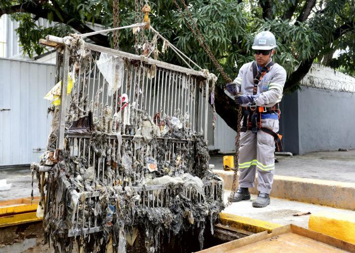 Houve um aumento de 17% de resíduos sólidos recolhidos em relação a 2017. Foto: Aluísio Moreira/Compesa