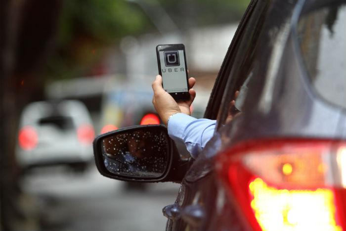 As operadoras do setor - como Uber e 99 - estão sujeitas a cobranças de Imposto de Serviços Sobre Qualquer Natureza. Foto: Paulo Paiva/DP.