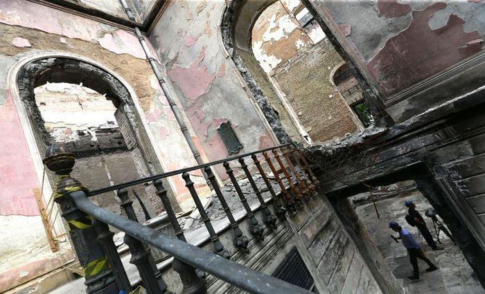 O Museu Nacional, devastado por um incêndio em setembro do ano passado - Tânia Rêgo/Arquivo/Agência Brasil