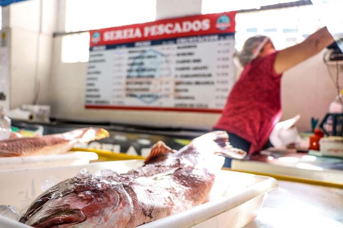 Operação aconteceu no Mercado da Encruzilhada nesta segunfa-feira. Foto: Ikamahã/PCR/Divulgação.