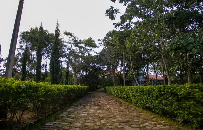 Parte externa da Casa Grande das Almas. Foto: Chico Andrade/ SeturPE
