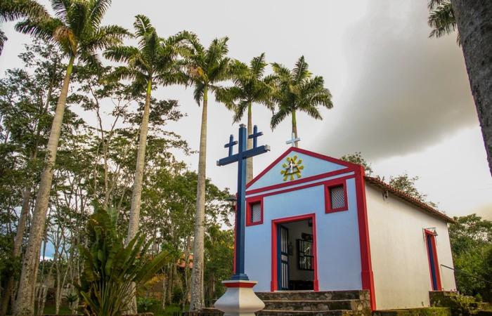 Capela dedicada à Nossa Senhora do Perpétuo Socorro. Foto: Chico Andrade/SeturPE