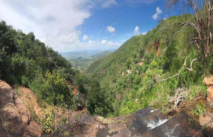 Visão panorâmica das serras triunfenses. Foto: Samuel Calado/DP