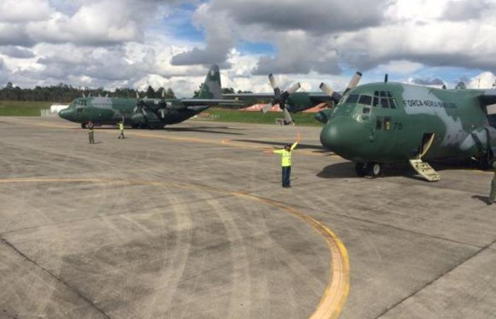 Aviões da FAB levaram os criminosos para unidades do Sistema Penitenciário Federal; Forças Armadas reforçaram segurança das cadeias. Foto: Arquivo/FAB/Divulgação