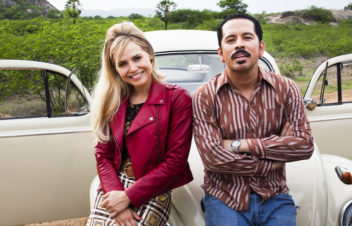"""Gravada no início de 2018, a série """"Cine Holliúdy"""", baseada no filme homônimo do diretor Halder Gomes, estreia dia 7 de maio na Globo, com exibição às terças-feiras, em 10 episódios. Foto: Marcos Rosa/Globo"""