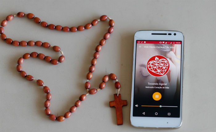 A webradio Coração de Mãe conta com uma programação 24 horas. Foto: Leonardo Santana/Esp.DP.
