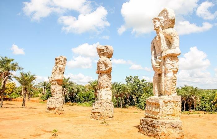As escultura possuem influência na arte de Aleijadinho. Foto: Chico Andrade/SeturPE
