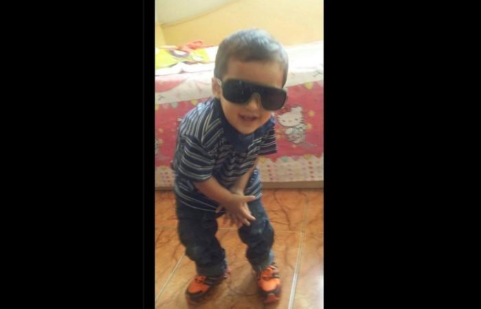 Leandro Marcio dos Santos Caner, de 5 anos. Foto: Divulgação/Arquivo Pessoal
