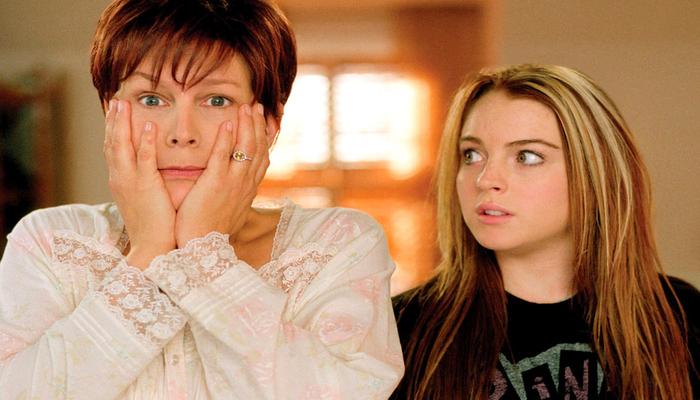 Lindsay Lohan e Jamie Lee Curtis em cena do filme 'Sexta-Feira Muito Louca'. Foto: Divulgação/Disney