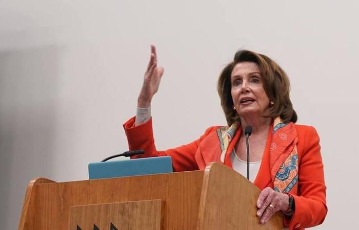 Nancy Pelosi, presidente da Câmara dos Representantes. Foto: Reprodução/Facebook (Foto: Reprodução/Facebook)