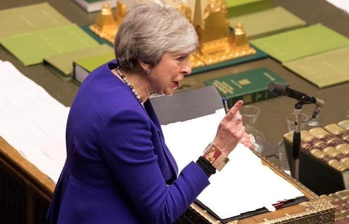 Primeira-Ministra do Reino Unido, Theresa May - Foto: Mark Duffy/AFP/UK Parliament