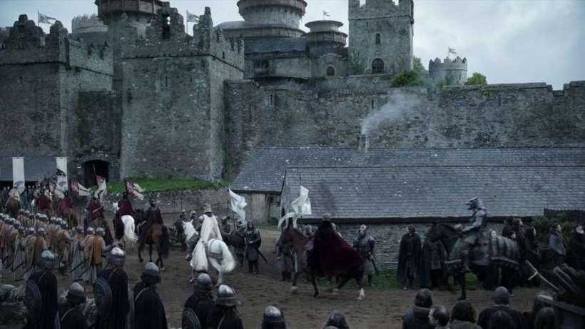 O imóvel foi construído no século 19, na Irlanda do Norte. Foto: HBO/Divulgação