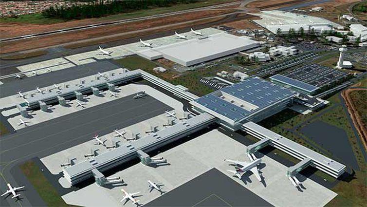 Viracopos ficou com a nota 4,77 em uma escala de 1 a 5. Foto: Aeroporto Internacional de Viracopos/Divulgação