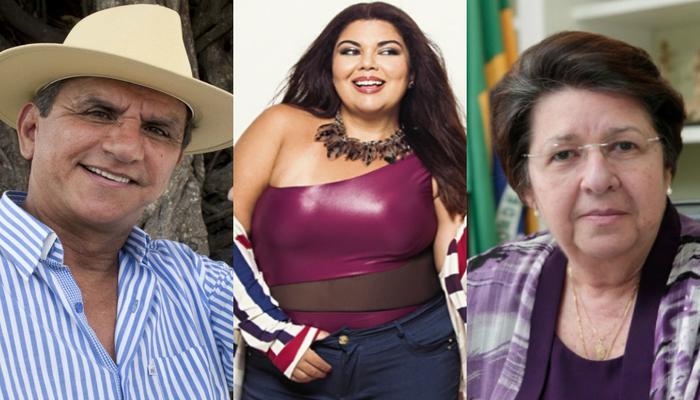 Evento acontece a partir das 14h30 e conta a participação de nomes como Fabiana Karla, Petrúcio Amorim e Margarida Cantareli. Foto: Divulgação