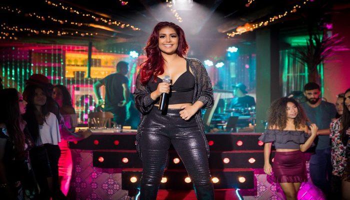 Evento marca o lançamento da carreira solo da cantora, ex-vocalista da Banda Musa. Foto: Divulgação