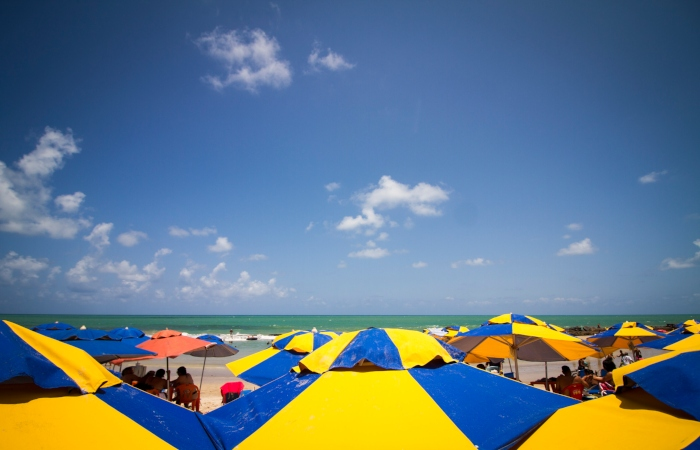 A temperatura deve chegar na máxima dos 32°C em toda a Região Metropolitana do Recife. Foto: Léo Malafaia/Esp.DP.