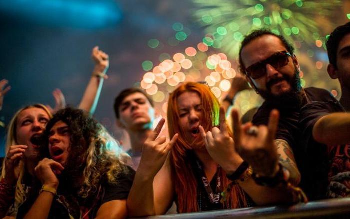 As últimas entradas disponíveis foram para o show do dia 28 de setembro, que terá apresentações de Foo Fighters, Weezer, Tenacious D e CPM 22. Foto: Mauro Pimentel/AFP Photo