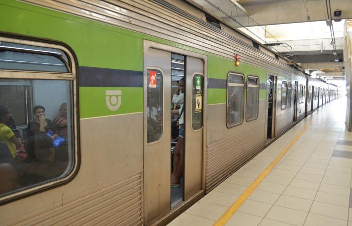 No Recife, a tarifa do metrô não tem reajuste há pelo menos 13 anos. Foto: Malu Cavalcanti/ArquivoDP. (No Recife, a tarifa do metrô não tem reajuste há pelo menos 13 anos. Foto: Malu Cavalcanti/ArquivoDP.)