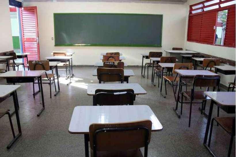 O ministro da Educação, Abraham Weintraub, afirmou, nessa segunda-feira (29) que gravar os mestres é um direito dos alunos. Foto: Monique Renne/Esp. CB/D.A Press