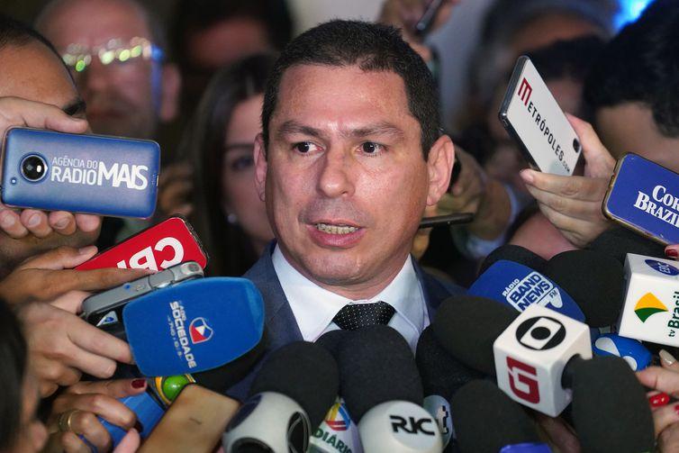 Deputado Marcelo Ramos se reunirá hoje com líderes partidários para debater trabalhos da comissão especial da reforma da Previdência. Foto: Pablo Valadares/Câmara dos Deputados