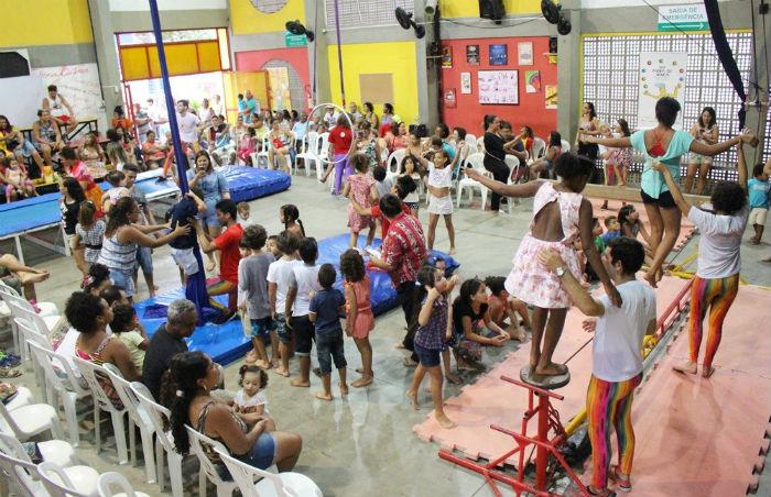 Além de apresentações circenses e vivências, haverá feira de artesanato e a tradicional realização do bingo. Foto: Divulgação