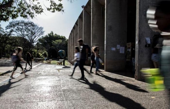 Universidade de Brasília foi um dos alvos da medida. Foto: Beto Monteiro/Secom UNB