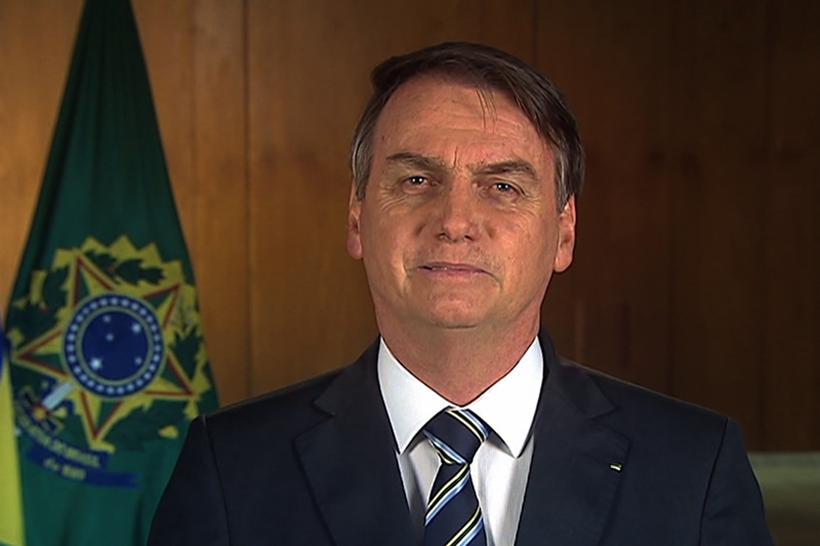 No pronunciamento, com duração de 2 minutos e 10 segundos, o presidente disse que a MP está concretizada em direitos considerados essenciais ao crescimento do país. Foto: Reprodução/TV Brasil