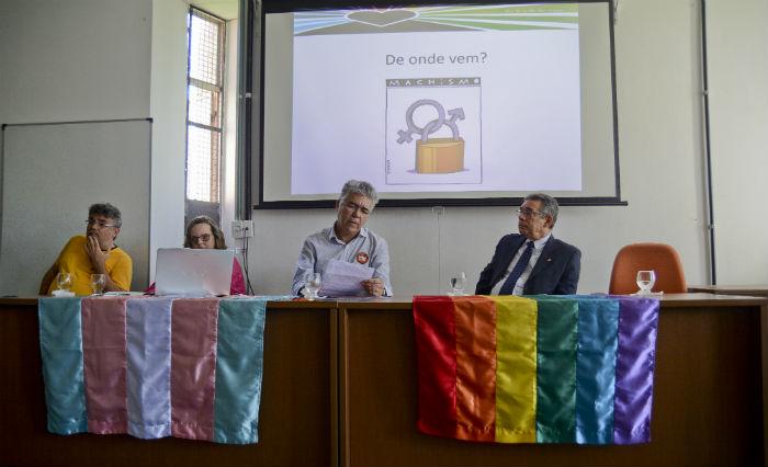 Diretoria LGBT da UFPE era pioneira. Foto: Guilherme Veríssimo/Esp DP.