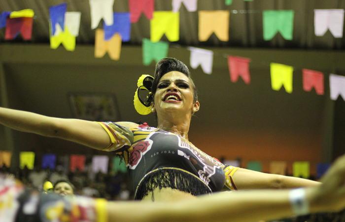 Junina Dona Matuta, do bairro de San Martin, na Zona Oeste do Recife. Foto: Samuel Calado/DP