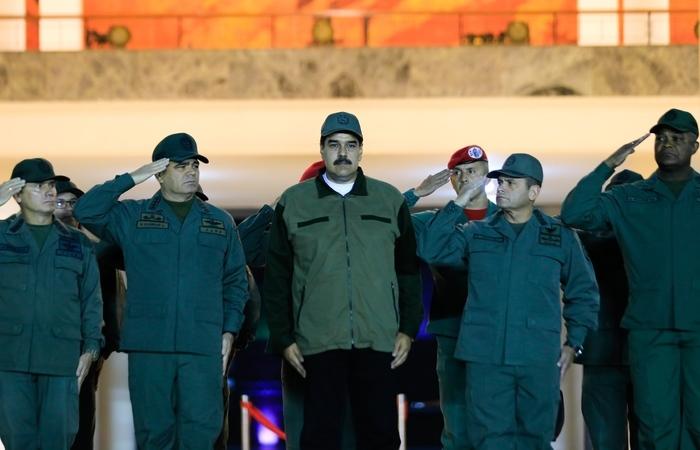 Foto: HO / Presidency/JHONN ZERPA / AFP