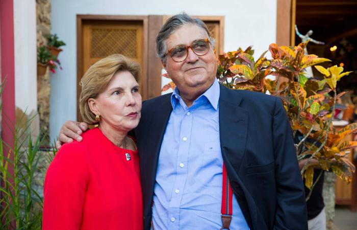Maria Lecticia Cavalcanti e José Paulo Cavalcanti Filho. Foto: APL/Divulgação
