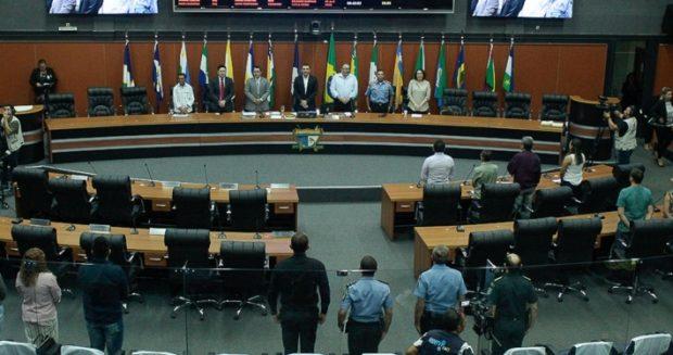 ssembleia Legislativa de Roraima. Foto: ALERR