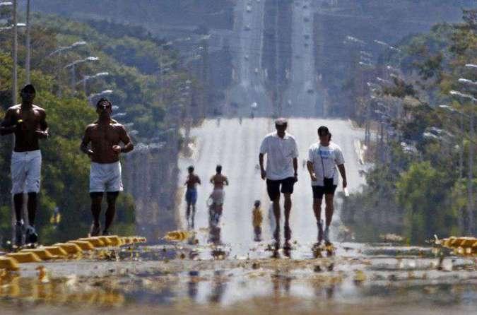 As intervenções contra o aquecimento global estão entre as mais afetadas pelo bloqueio de recursos feito na semana passada pelo governo federal. Foto: Daniel Ferreira/CB/D.A Press
