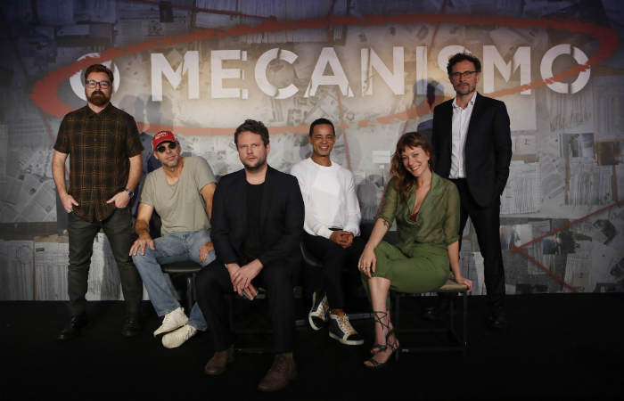 Elenco da série O Mecanismo. Foto: Netflix/Divulgação