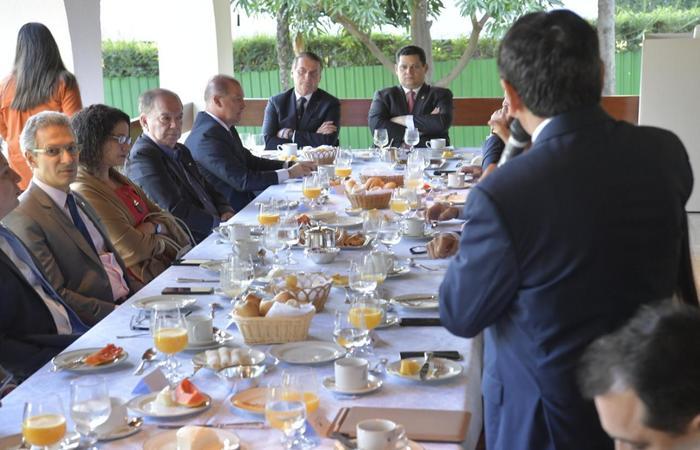 Presidente Jair Bolsonaro esteve presente em parte da reunião dos governadores em Brasília. (Foto: Divulgação/Governo do Piauí) (Presidente Jair Bolsonaro esteve presente em parte da reunião dos governadores em Brasília. (Foto: Divulgação/Governo do Piauí))