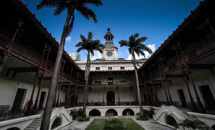 Estudantes criaram perfil para divulgar destaques da UFPE e ressaltam a história da FDR (foto), por exemplo, uma das mais antigas instituições do país. Foto: Paulo Paiva/DP.