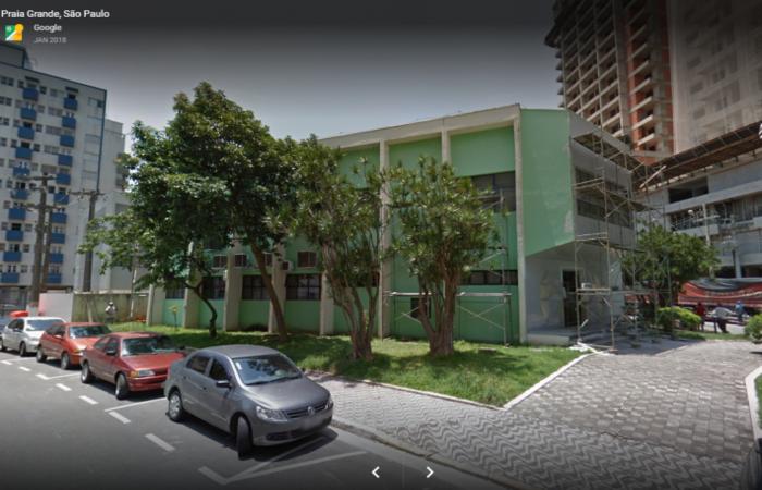 Câmara Municipal de Praia Grande. Foto: Reprodução/Google Street View