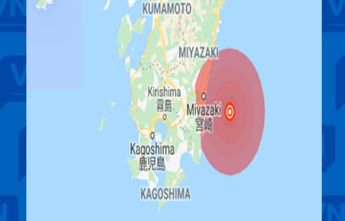 O terremoto ocorreu na cidade de Kesennuma, na ilha de Honshu.(Foto: Reprodução/Internet)