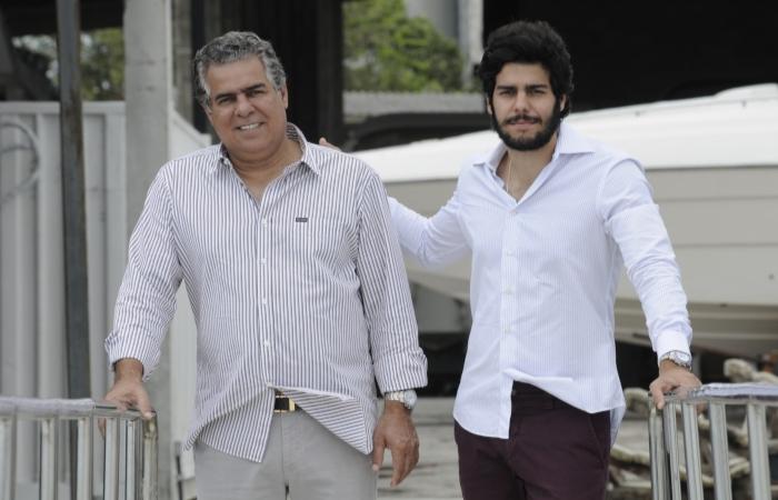 Na foto, José Pinteiro Costa Neto (esq.) e José Pinteiro Júnior (dir). Foto: Everson Verdiao/ArquivoDP (Na foto, José Pinteiro Costa Neto (esq.) e José Pinteiro Júnior (dir). Foto: Everson Verdiao/ArquivoDP)