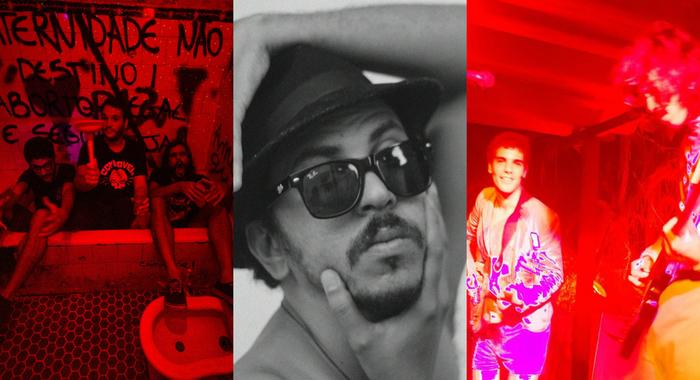 Entre as atrações do festival estão as bandas Cosmo Grão, Ugly Boys e o cantor Juvenil Silva. Fotos: Divulgação