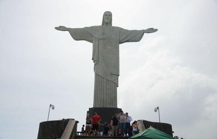 Com o problema, os visitantes precisam subir uma escada de 220 degraus. Foto: Agência Brasil/ Tomaz Silva